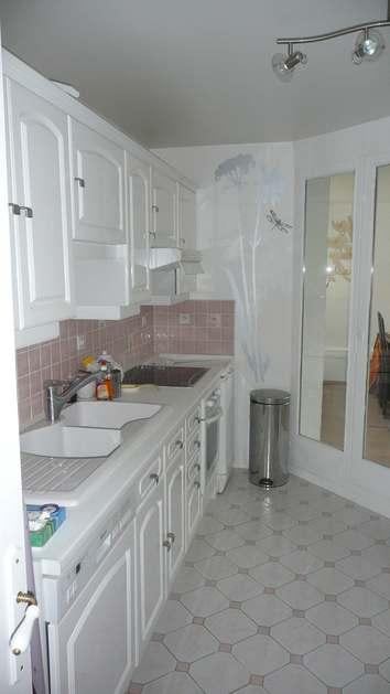 Cacher un carrelage dans une cuisine - Cacher carrelage cuisine ...
