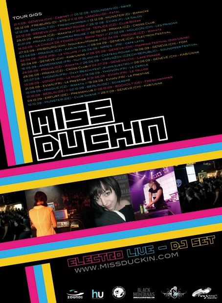 MISS DUCKIN TOUR 2009