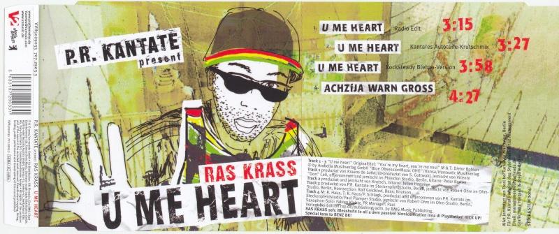 P.R. Kantate present Ras Krass - U Me Heart