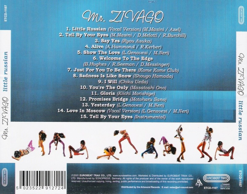 Mr.Zivago - Little Russian