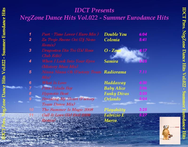 NrgZone Dance Hits Vol.022 - Summer Eurodance Hits