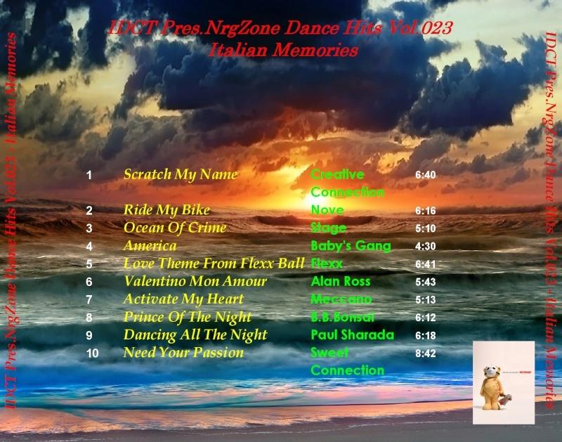 NrgZone Dance Hits Vol.023 - Italian Memories