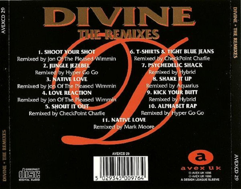 Divine - The Remixes
