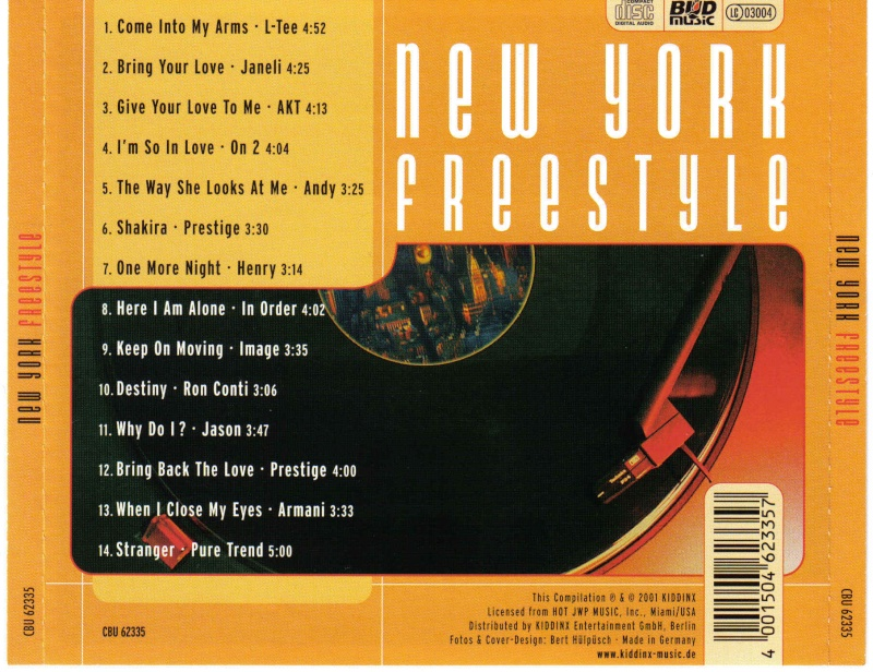 New York Freestyle