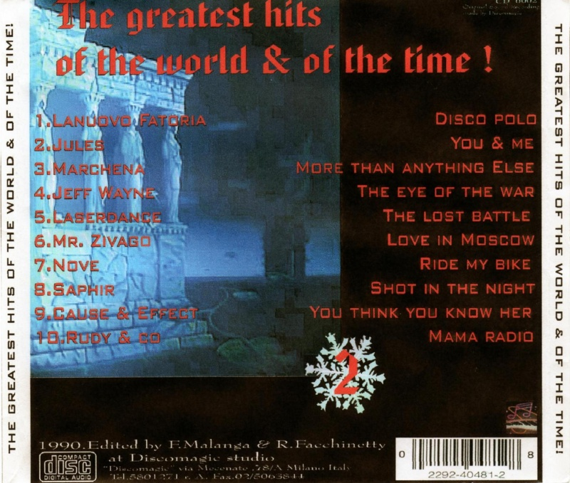 The Greatest Hits Of The World & Of The Time ! Vol.2