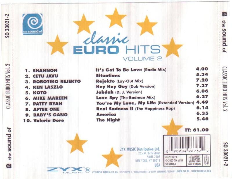 Classic Euro Hits Vol.02
