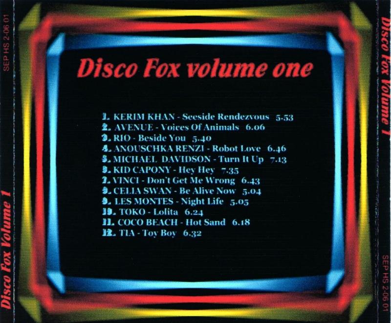 Disco Fox Volume 1