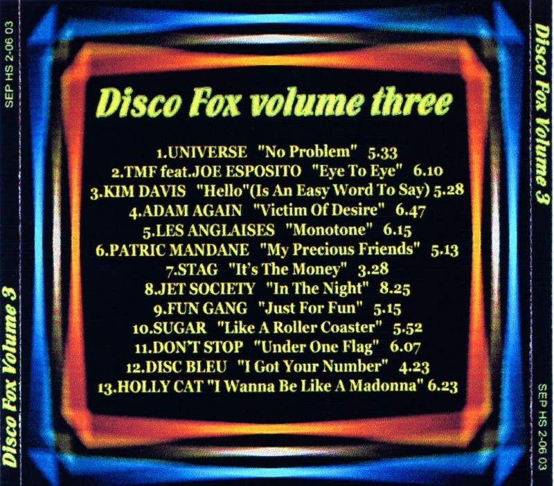 Disco Fox Volume 3