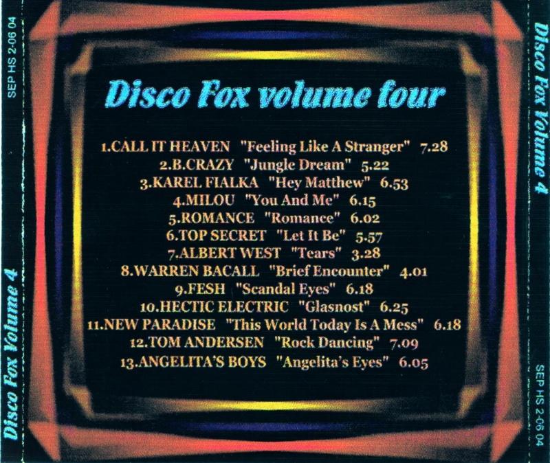 Disco Fox Volume 4