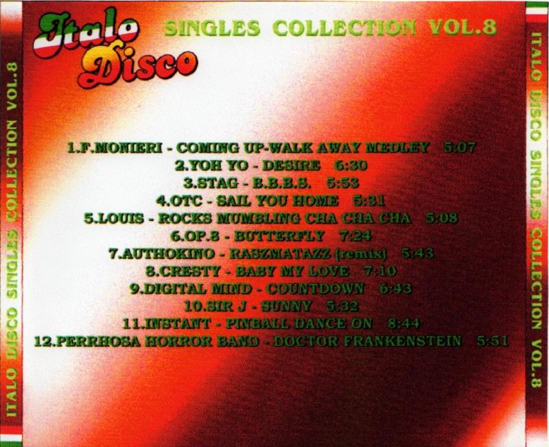 Italo Disco Singles Collection Vol.8