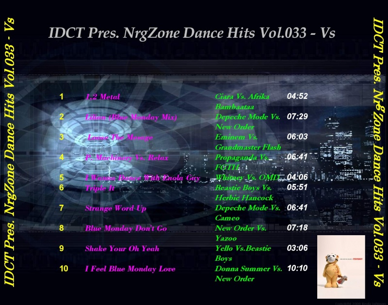 IDCT Pres.NrgZone Dance Hits Vol.033 - Vs.