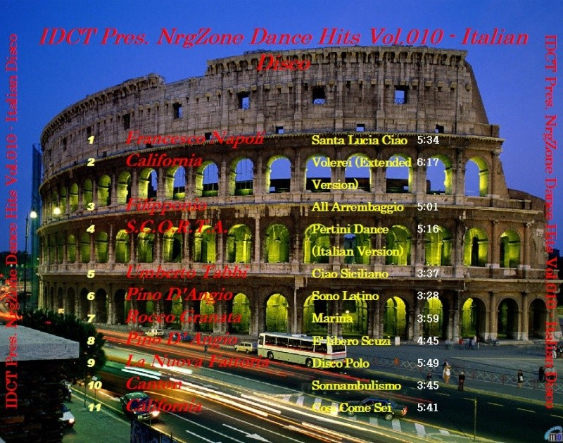NrgZone Dance Hits Vol. 010 - Italian Disco