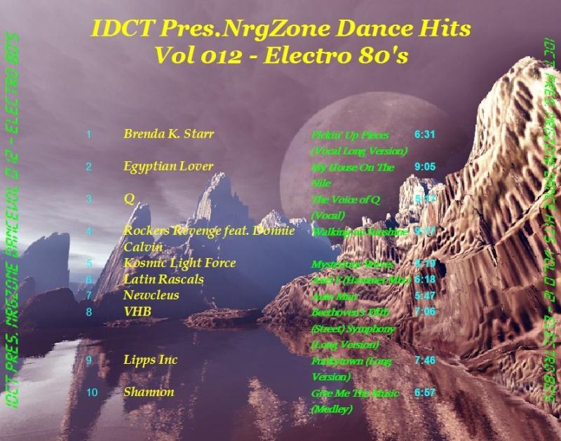 NrgZone Dance Hits Vol.012 - Electro 80's