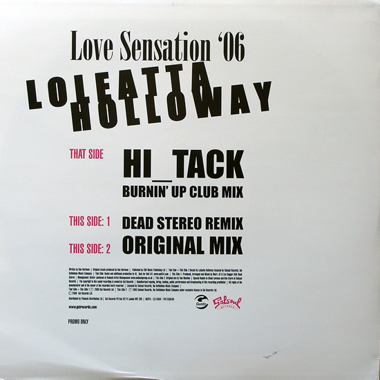 Loleatta Holloway - Love Sensation 06'