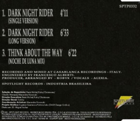 Ice Mc - Dark Night Rider - Mcd