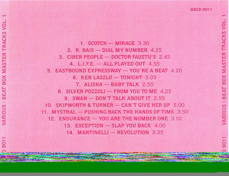 Beat Box Master Tracks Vol. 1