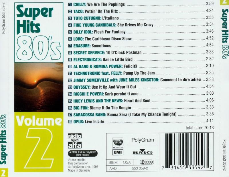Super Hits 80's Vol.2