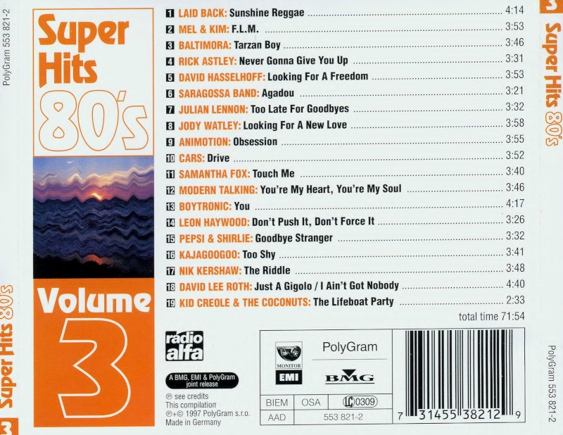 Super Hits 80's Vol.3