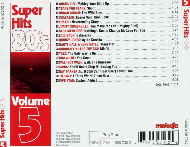 Super Hits 80's Vol.5