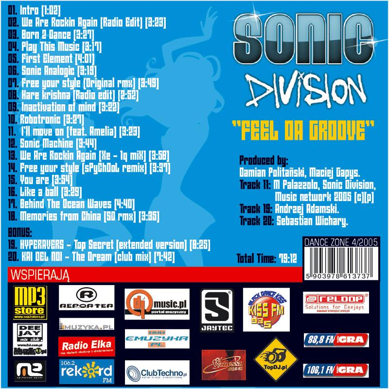 Sonic Division - Feel Da Groove