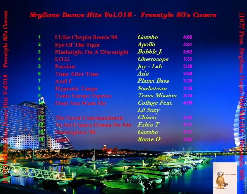 NrgZone Dance Hits Vol.018 - Freestyle 80's Covers