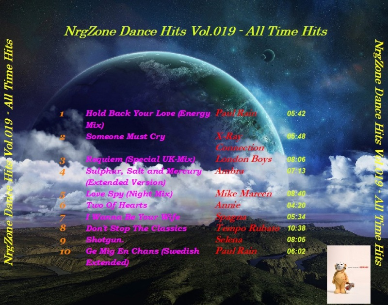 NrgZone Dance Hits Vol.019 - All Time Hits