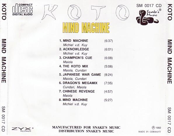 Koto - Mind Machine