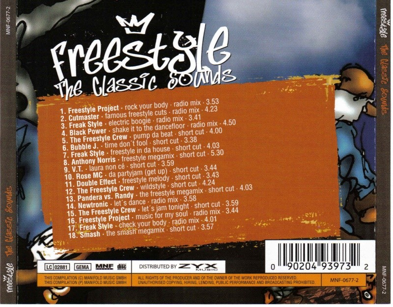 Freestyle The Classic Sounds