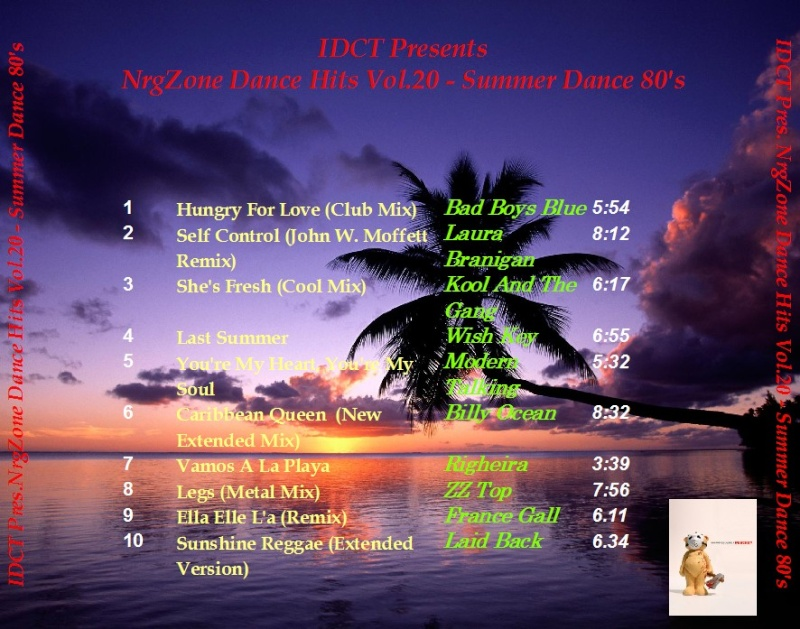 NrgZone Dance Hits Vol.020 - Summer Dance 80's