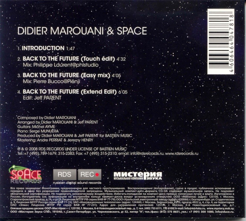 Didier Marouani & Space - Back to the future