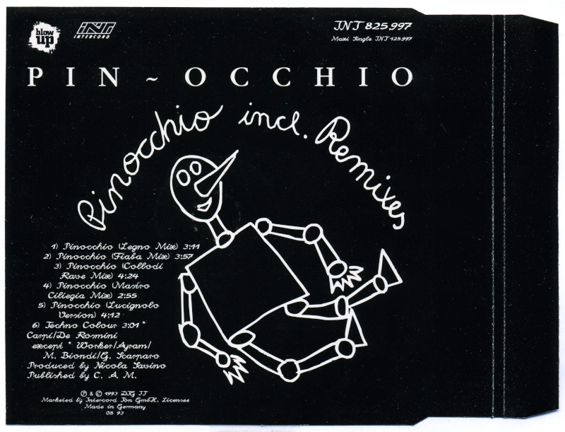 Pin-Occhio - Pinocchio - Maxi