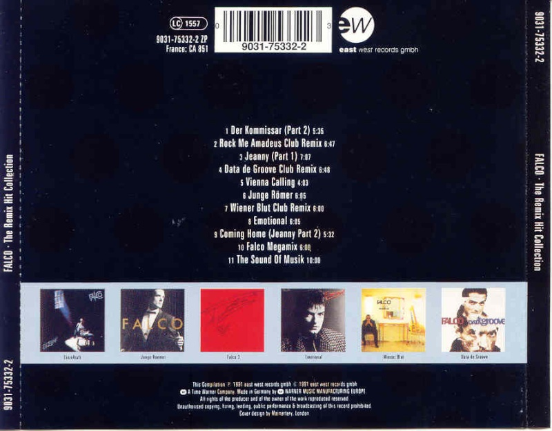 Falco - Remix Hit Collection