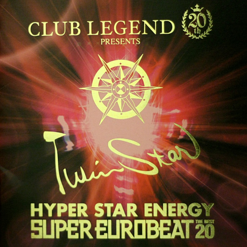 Club Legend 20th Presents TWINSTAR HYPER STAR ENERGY -The Best 20 (Limited Edition)