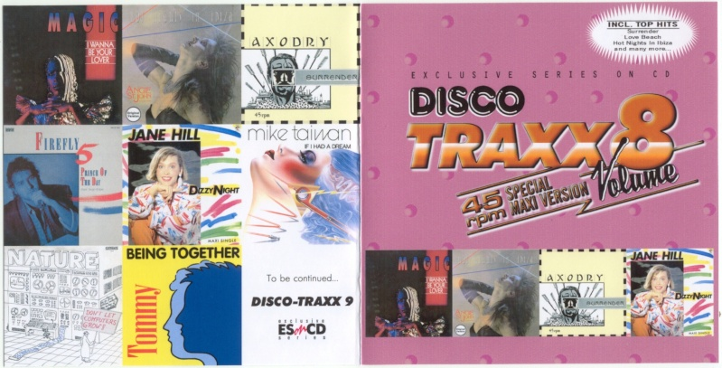 45 RPM Disco Traxx Vol 08
