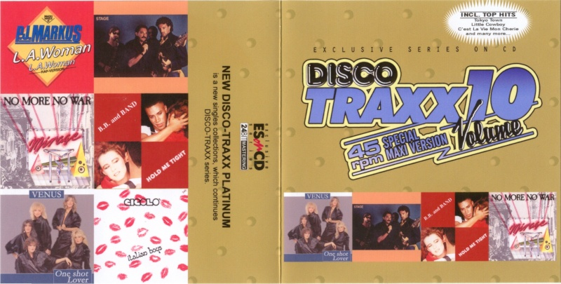 45 RPM Disco Traxx Vol 10