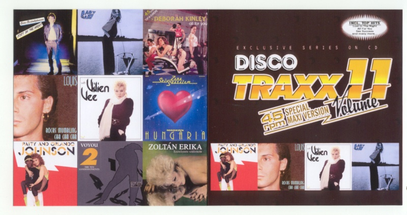 45 RPM Disco Traxx Vol 11