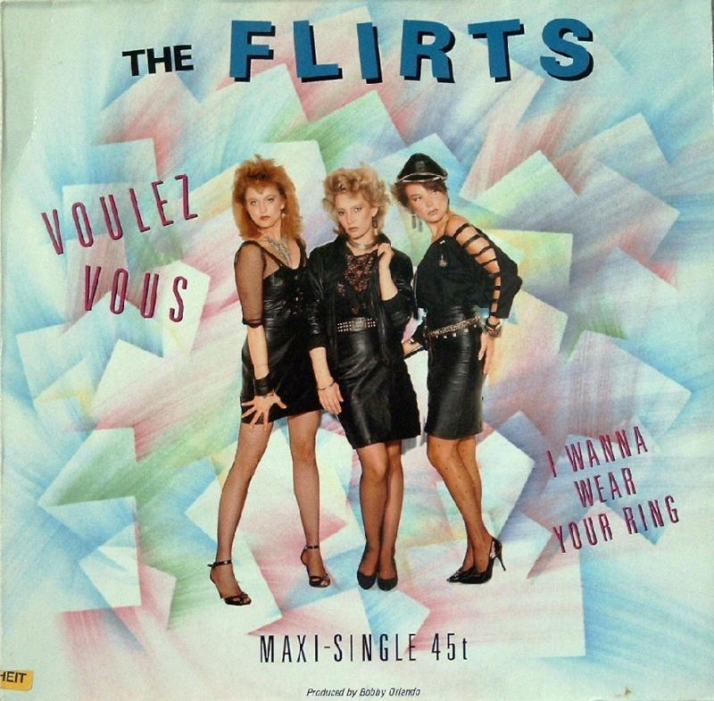 The Flirts - Voulez Vous  - MAXI