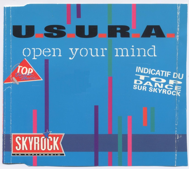 Usura - Open Your Mind - Maxi