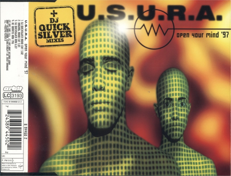 Usura - Open Your Mind '97 - Maxi