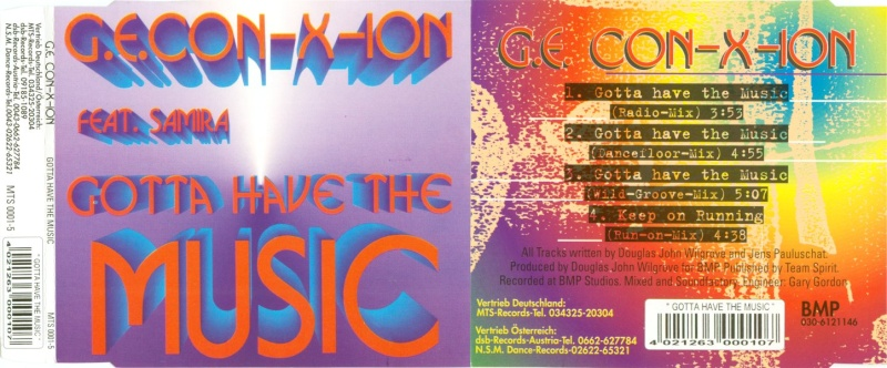G.E. Con-X-Ion feat. Samira - Gotta Have The Music