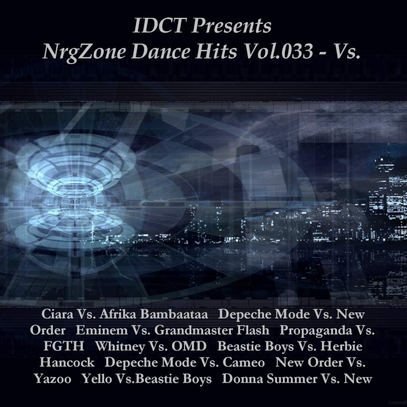 Cover Album of IDCT Pres.NrgZone Dance Hits Vol.033 - Vs.