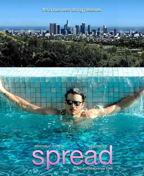 Film toy boy spread for La piscine film