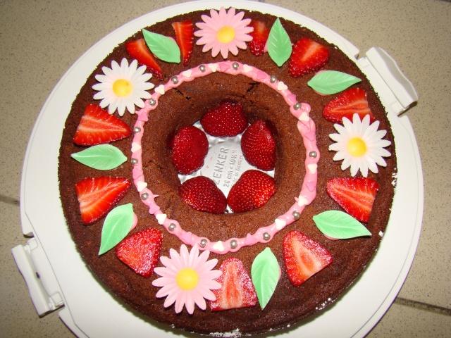 D co avec des fruits - Decoration de gateau avec des fruits ...