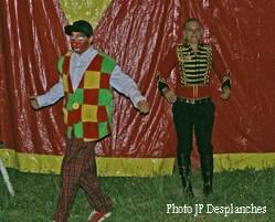 anniversaire au cirque ile de france