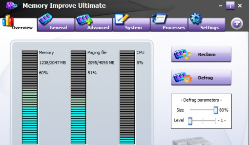 WindowsCarePro Memory Improve Ultimate v5.2.1.212 WinAll Regged-CRD Improve