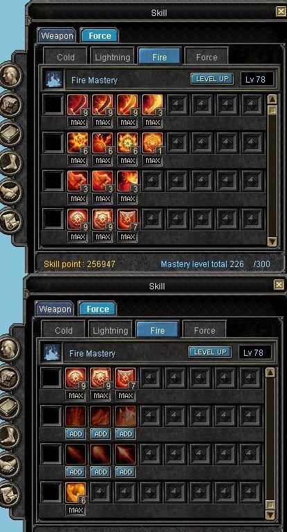 Full Str Glavie Heuksal(100) Fire(100) Lighting(100)