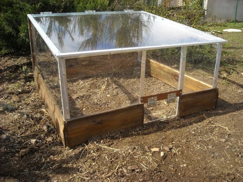 Mini serre en plexi acrylique et nouvel agencement for Amenagement jardin pour tortue