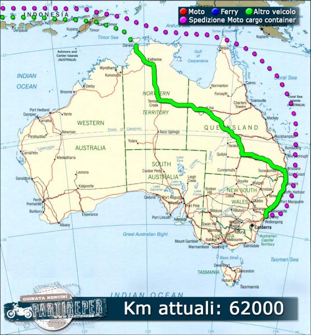 Italia: In Moto – Australia