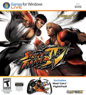 Fightpad Street Fighter IV