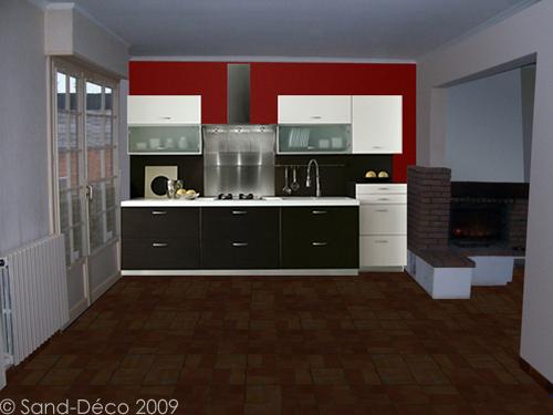 carrelage couleur rouille stunning papier peint imitation. Black Bedroom Furniture Sets. Home Design Ideas